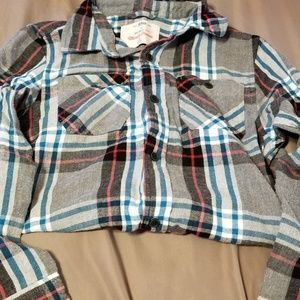 Big Boys Size Small (8) Flannel Shirt